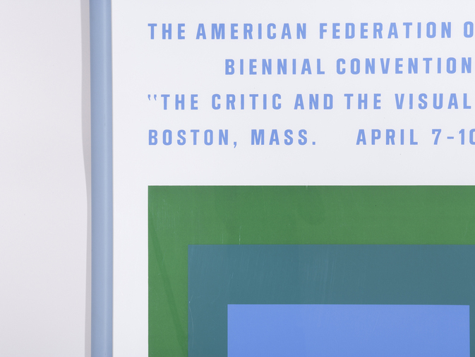 Josef Albers Biennial Convention Poster, image 3