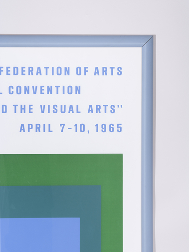 Josef Albers Biennial Convention Poster, image 2