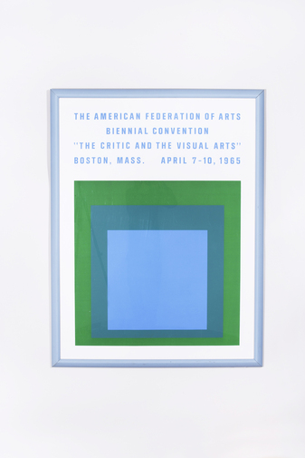 Josef Albers Biennial Convention Poster, image 1