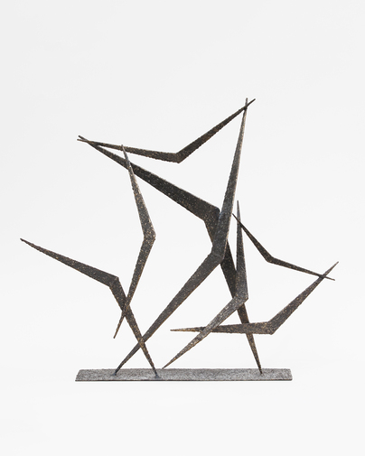 Marcello Fantoni Metal Sculpture, image 1