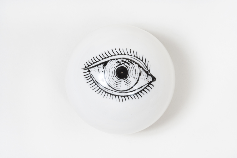 Ceramic Eye Paperweights, image 2