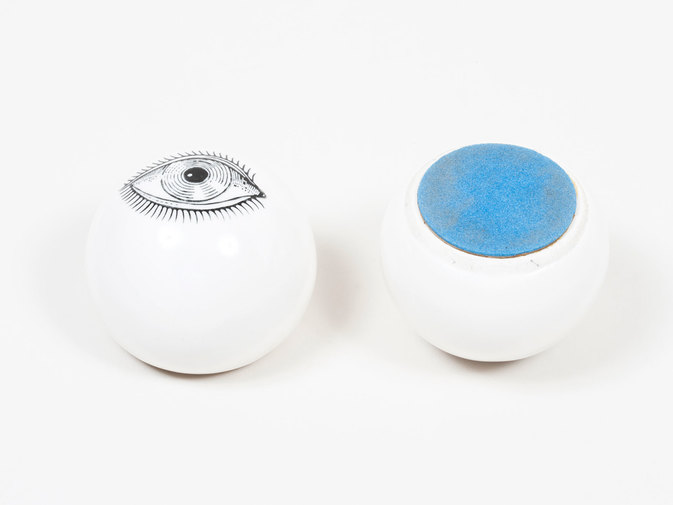 Ceramic Eye Paperweights, image 3