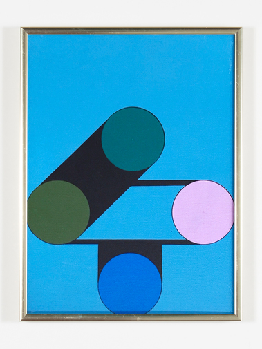 Kenneth Licht Geometric Paintings, image 3