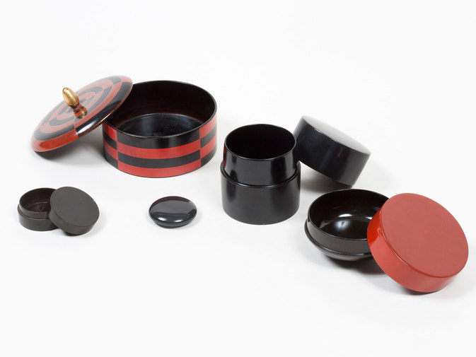 Japanese Lacquerware Boxes, image 2