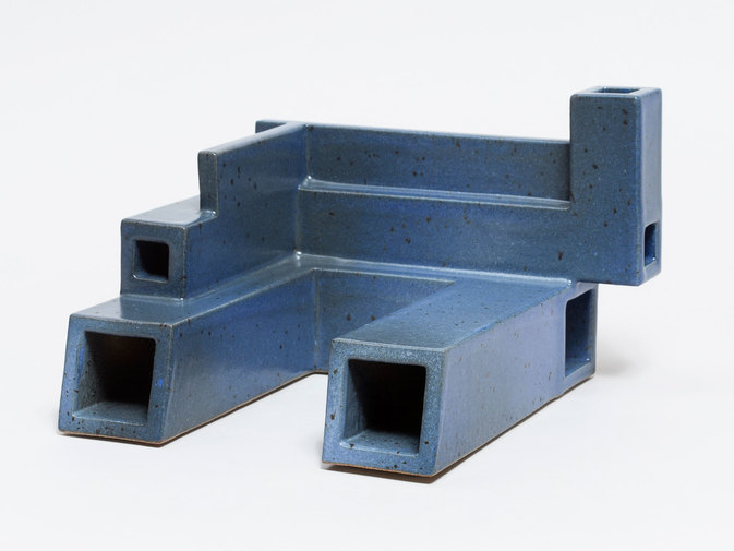 Ian McDonald Extruded Blue Object, image 1