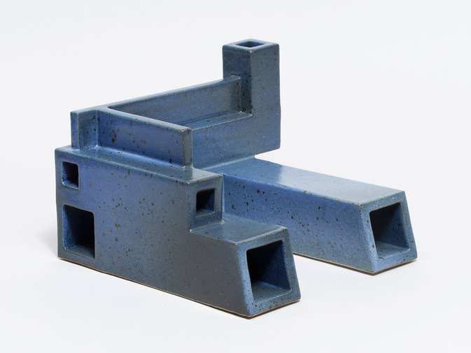 Ian McDonald Extruded Blue Object, image 3