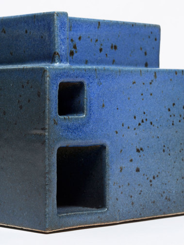 Ian McDonald Extruded Blue Object, image 4