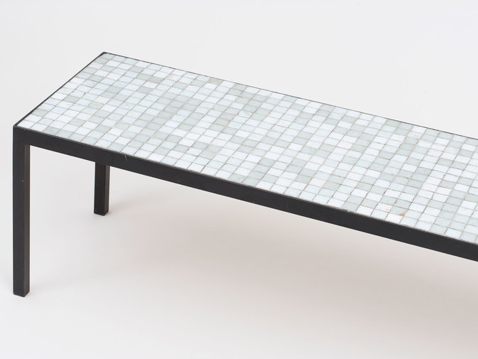 Mosaic Glass Table, image 3