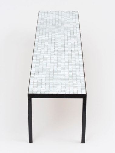 Mosaic Glass Table, image 5