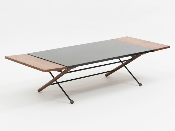 Greta Grossman Drop Leaf Coffee Table, image 1