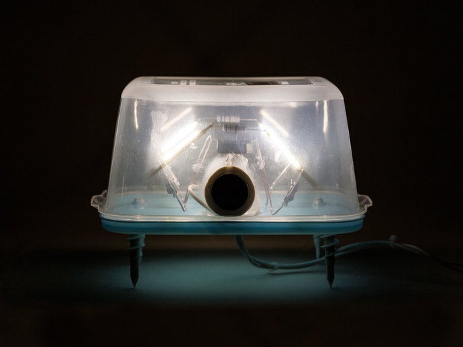 "Chris Beeston ""Lamp 4167 (Rectangular Food Saver No. 5)"", image 5"