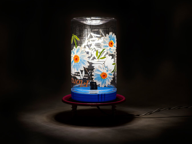 "Chris Beeston ""Lamp 91 (Flora)"", image 3"