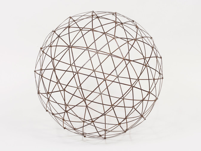 "Chris Beeston ""Sphere (Street Sweeper Bristles)"", image 2"