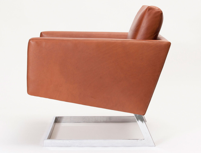 Cantilevered Modernist Armchairs, image 2