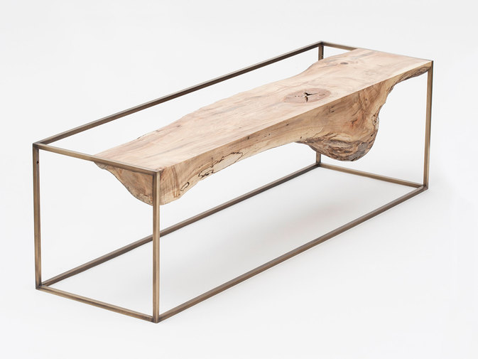 "Huy Bui ""Inverted Lands"" Floating Console, image 2"
