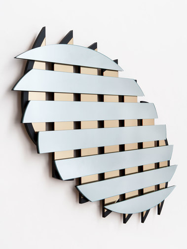 "Ian Stell ""Controlled Crush"" Mirror, image 1"