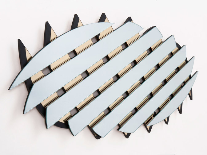 "Ian Stell ""Controlled Crush"" Mirror, image 4"