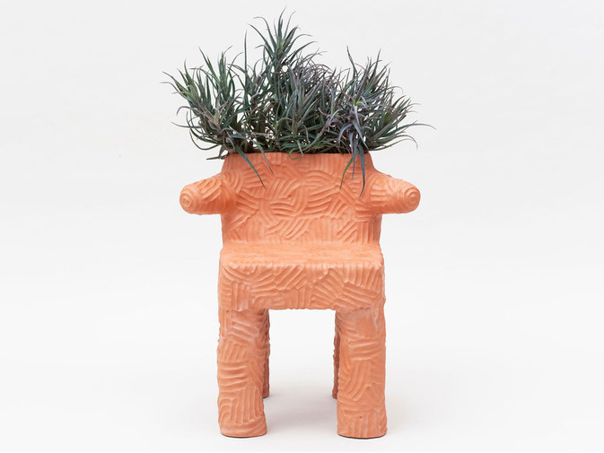 Chris Wolston Magdalena Plant Chair, image 1