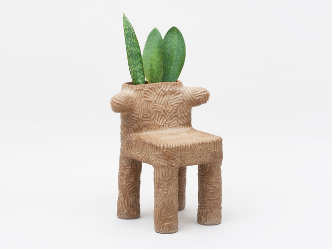 Chris Wolston Tolima Plant Chair, image 1