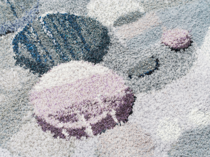 "Camilla Iliefski ""Waxing Gibbous"" Tapestry, image 5"