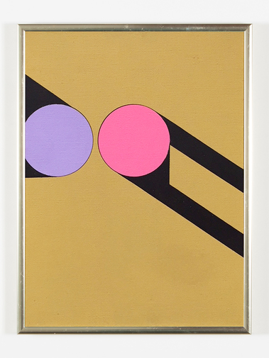 Kenneth Licht Geometric Paintings, image 15