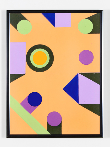 Kenneth Licht Geometric Paintings, image 10