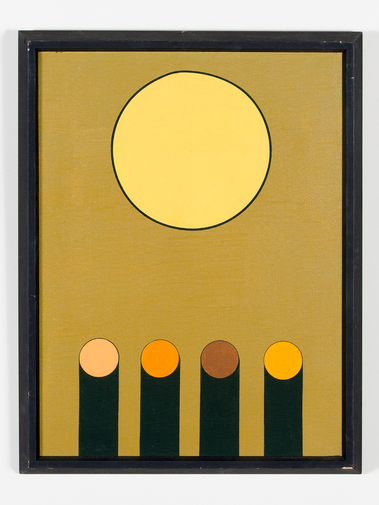 Kenneth Licht Geometric Paintings, image 11