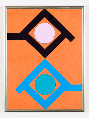 Kenneth Licht Geometric Paintings, image 12