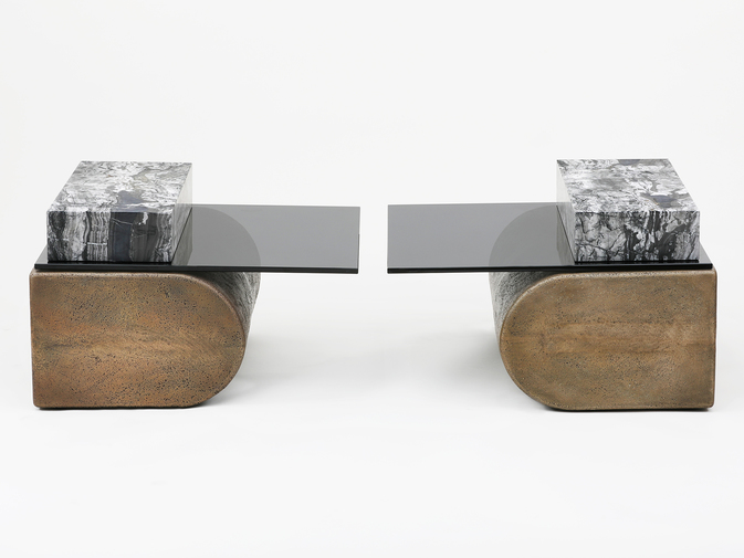 Brian Thoreen Cantilever Tables, image 7