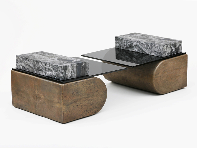 Brian Thoreen Cantilever Tables, image 1