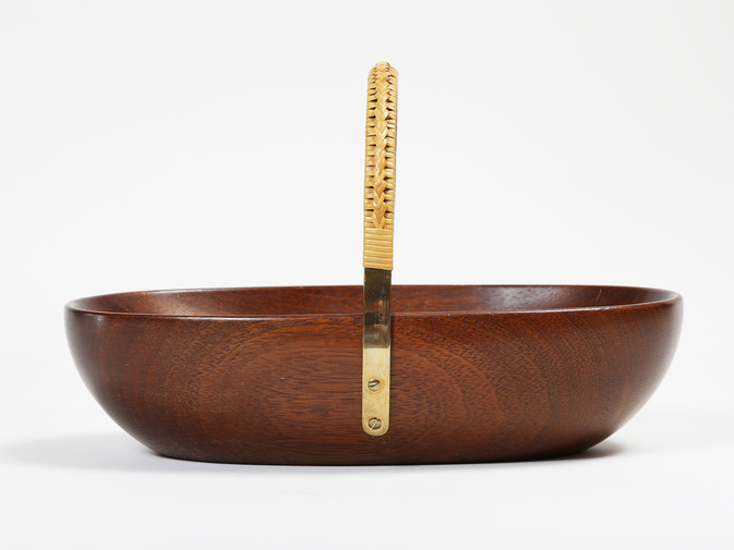 Carl Auböck Wooden Bowl with Handle, image 3
