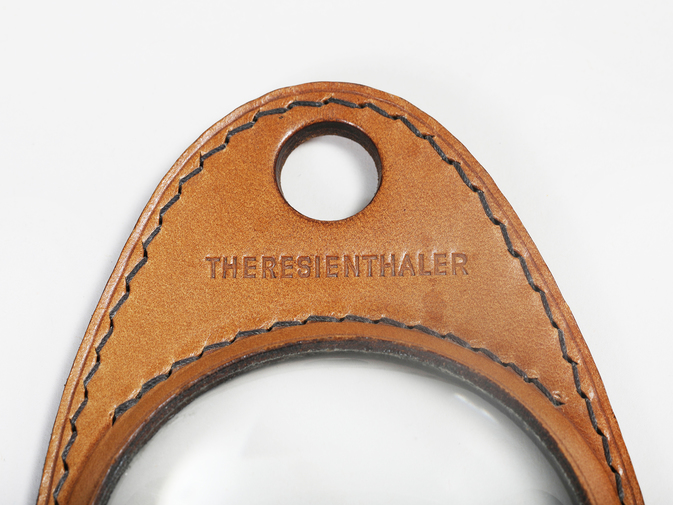 Carl Auböck Leather Magnifying Glass, image 3
