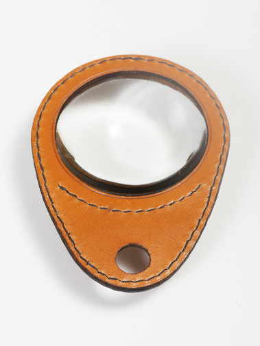 Carl Auböck Leather Magnifying Glass, image 4