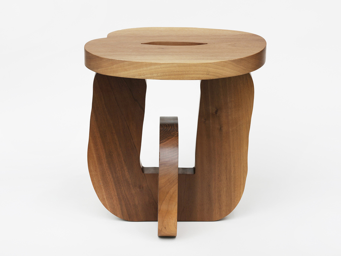 "Soft Baroque ""Hard Round"" Stool, image 1"