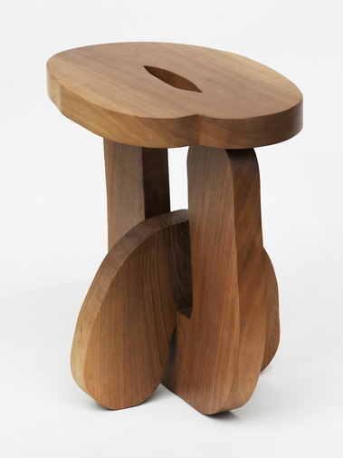 "Soft Baroque ""Hard Round"" Stool, image 3"