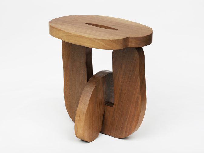 "Soft Baroque ""Hard Round"" Stool, image 4"