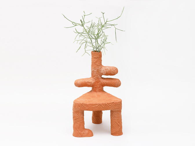 Chris Wolston Pajaritos Plant Chair, image 1