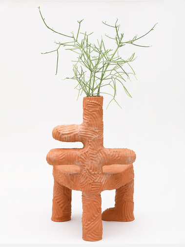 Chris Wolston Pajaritos Plant Chair, image 4