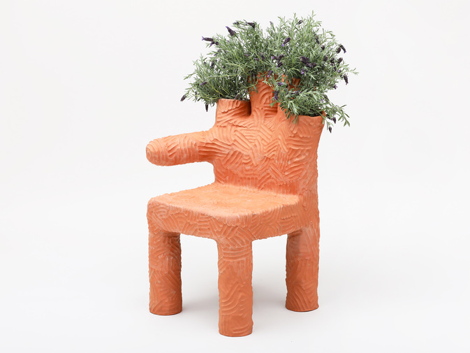 Chris Wolston Colibri Plant Chair, image 1