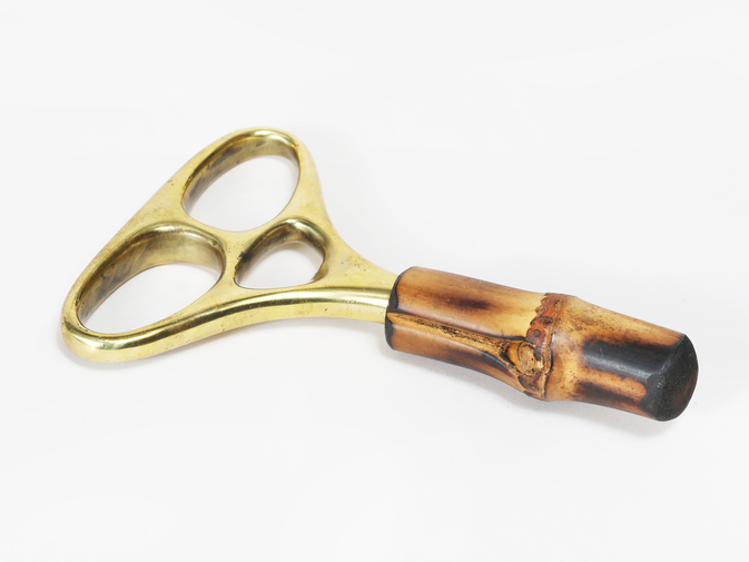 Carl Auböck Brass and Bamboo Corkscrew, image 1