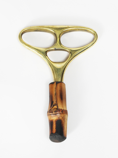 Carl Auböck Brass and Bamboo Corkscrew, image 2