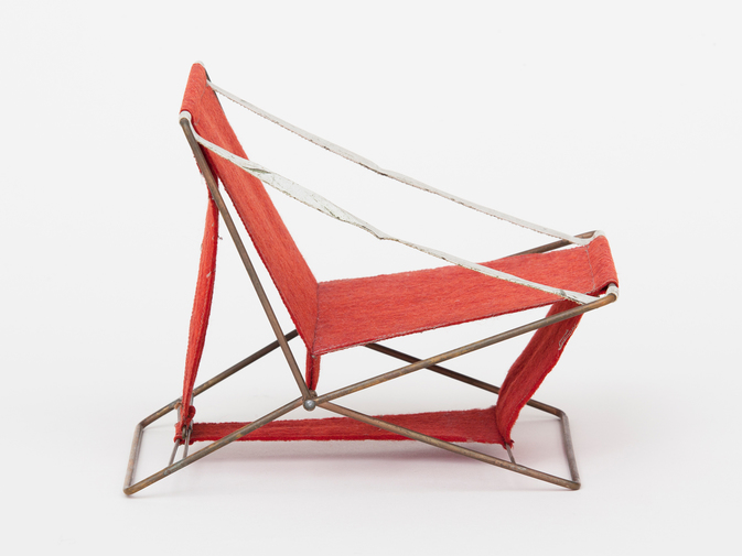 Henry Glass Folding Chair, image 1