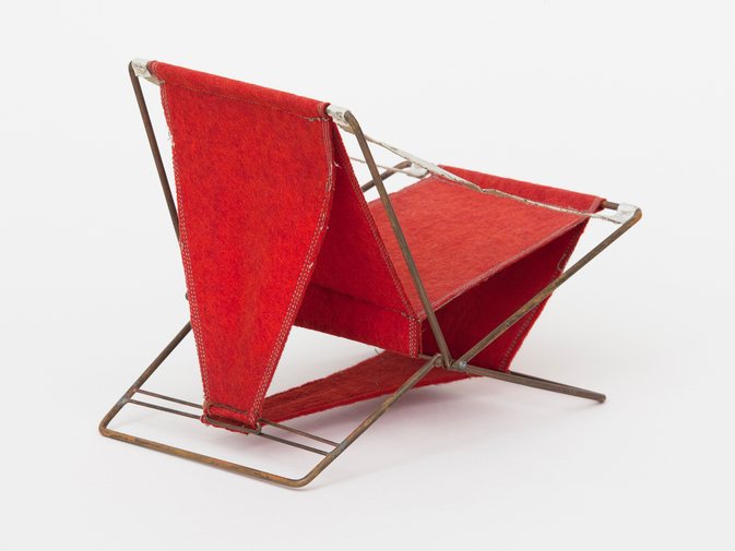 Henry Glass Folding Chair, image 3