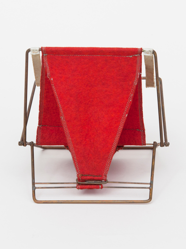 Henry Glass Folding Chair, image 5
