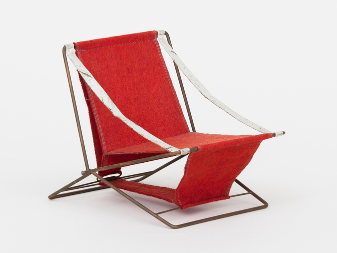 Henry Glass Folding Chair, image 2