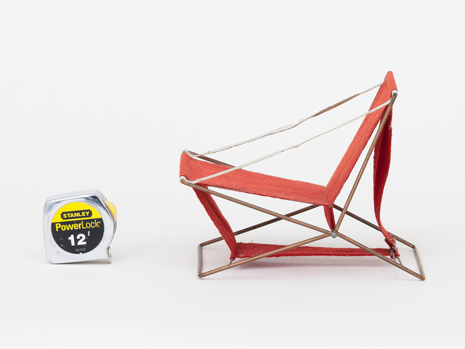 Henry Glass Folding Chair, image 4