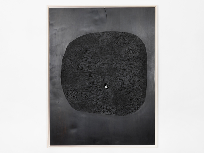"Julian Watts ""Black Painting"", image 1"