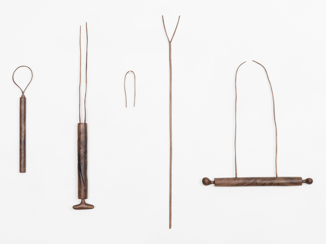 Julian Watts Set of Walnut Tools, image 1