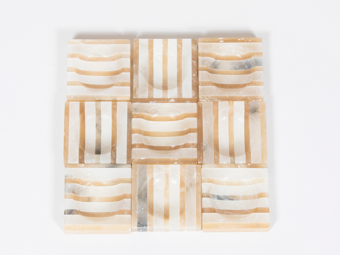 Striped Alabaster Trays, image 6