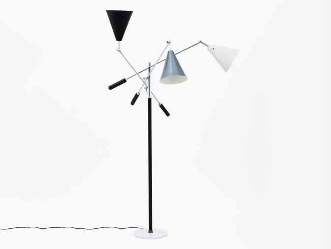 Arredoluce Three-Arm Floor Lamp, image 1